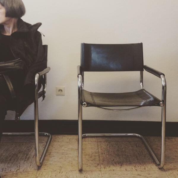 Stuhl im Wartezimmer