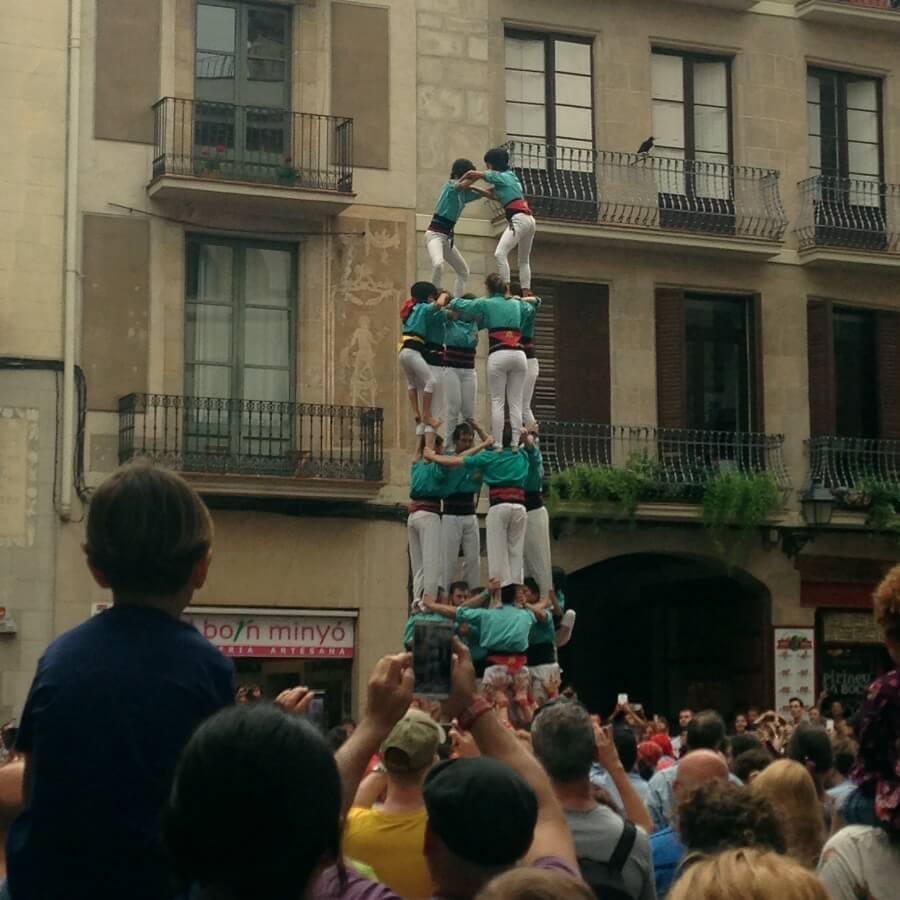 Barcelona - Castellers