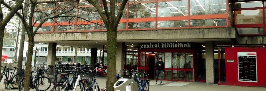 Stadtbibliothek Köln Header