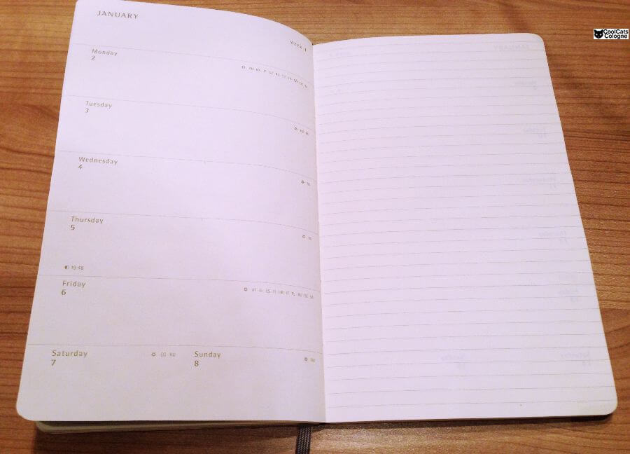 Moleskine Kalender
