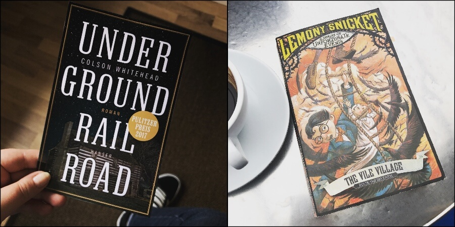 Buchtipp: Underground Railroad und Lemony Snicket